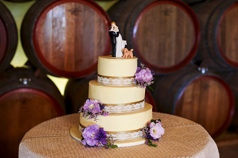 Barrel Room Wedding Cake, Southern Highlands Weddings