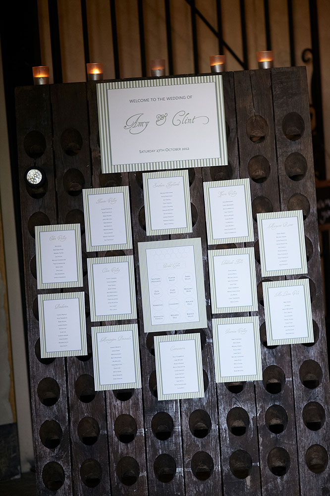 Barrel Room Seating Chart, Southern Highlands Weddings