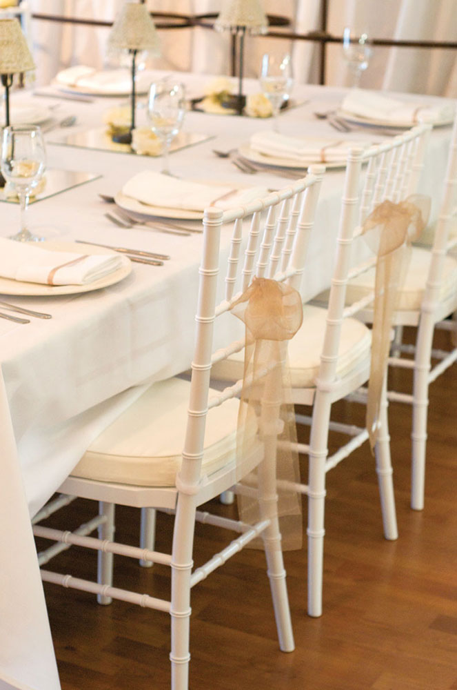 YES Wedding Chairs, Southern Highlands Weddings