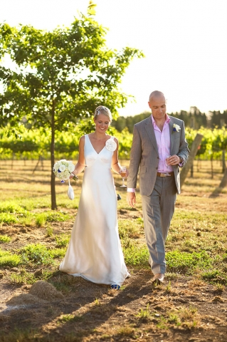 Bride & Groom Ceremony Recessional, Southern Highlands Weddings