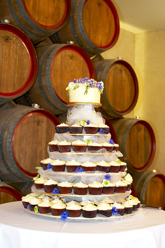 Cake Table Cupcakes, Southern Highlands Weddings